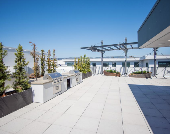 Orion rooftop dining spaces