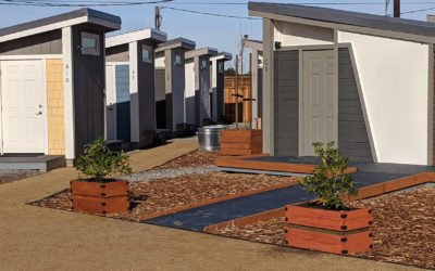 San Jose's First Tiny Home Community for Homeless People Opens Soon