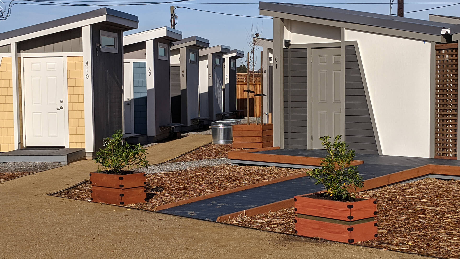 Berryessa Tiny Home village in San Jose